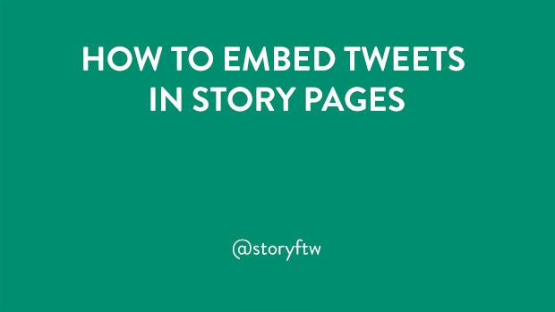 Embed Tweets